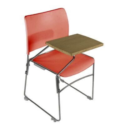 The Blaze writing tablet accessory pictured on a red chair