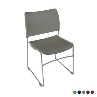 The Blaze stacking chair in grey