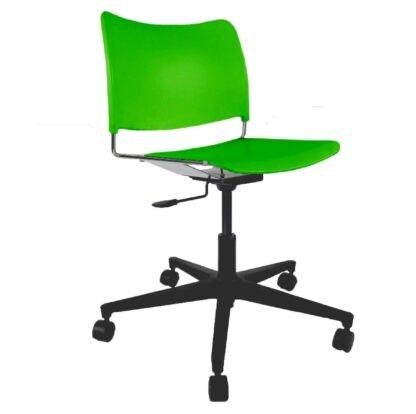 The Blaze swivel chair in green