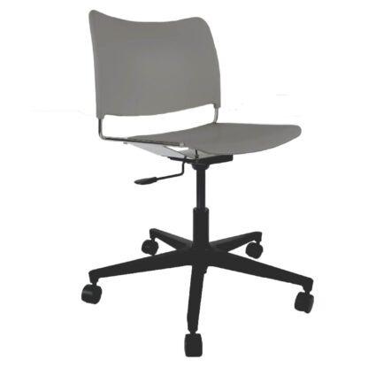 The Blaze swivel chair in grey
